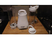 Russel hobbs smoothie maker with two bottles