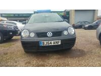 VW POLO 1.2 ONLY 52000 MILES ON CLOCK AND ONLY 2 OWNERS