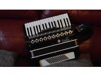 Stella 34 key piano accordion - 60 Bass