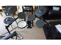 Roland TD4 V-Drums Electronic Drum Kit - Excellent Condition