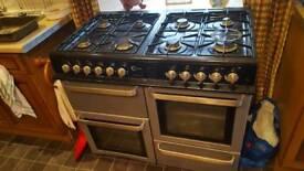 Range cooker lpg