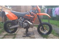 KTM 300 EXC Supermoto Enduro (ROAD LEGAL) 300exc 250exc sx 250 not beta gasgas