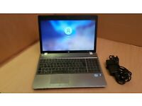 "HP ProBook 4530s 15.4"" Laptop Intel i3-2130 4GB 250GB Cam Wifi BT SD HDMI Win10/7"