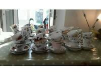 Vintage china joblot tea shop business 400+ pieces wedding crockery