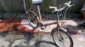 Hurcules ladies vintage folding bike