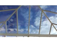 Last Chance - Conservatory Glass Roof for Sale