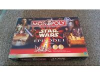 Star wars monopoly collectors edition