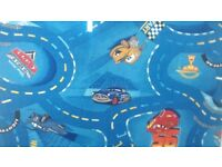 Lightning McQueen road carpet. BRAND NEW 3.5 × 4 m £70 fitted