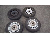 "14"" rims and tyres great condition"