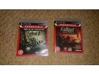 Fallout Collection (3 & New Vegas GOTY editions) PlayStation 3 PS3