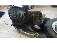 Vespa 150cc engine