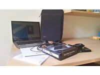 6 month old Toshiba Satellite Radius 12 professional 2-in-1 convertible laptop/tablet