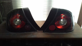 Honda Civic em2 aftermarket rear lights