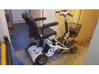 Used but in excellent condition Quingo Air 2 Mobility Scooter - 5 wheels