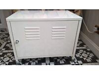 metal storage filing cabinet bedside table on casters
