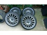 VW Golf Skoda Octavia Audi TT sport 18inch alloys and tyres(aftermarket)