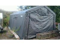 Clarke instant garage tent marquee style