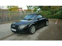 2000 Audi TT Quattro Roadster 225 BHP Black Private Reg