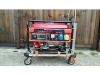 LUTIAN 2500VA, 230V and 110V PETROL GENERATOR 2.2kW WITH ELECTRIC START
