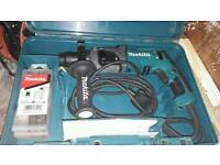Makita sds plus drill 240v