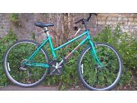 Vintage Ladies 18 Speed Hybrid Bike in Full Working Order