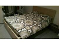 Malm bed king size 155×200 from IKEA.