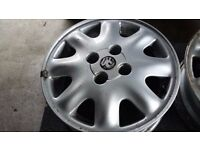 SURPLUS ALLOY RIMS SUIT SR NOVA / CORSA ONLY 3 REMAINING