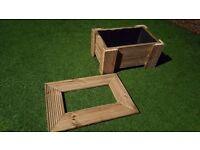 Timber Planter
