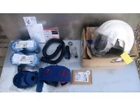 3M AIR FEED MASK WITH RESPIRATOR
