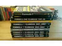 Formula one yearbooks + other F1 titles