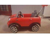 Mini Couper Push/Ride On
