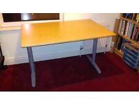 Ikea Galant Desk 120cm x 80cm Birch