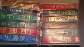 Souvenir collectors leather book marks