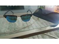 Rayban Clubmaster Ladies Sunglasses