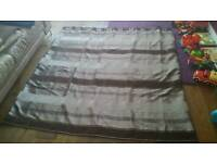 Eyelet curtains - lined - excellent condition