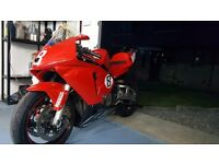 Honda cbr600rr track bike