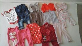 Baby clothes bundle 3 to 6 months.