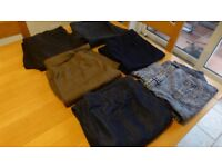 bundle of 15 Pairs of Geoge jeans and trousers