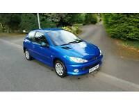 2007 Peugeot 206 look....2 Owners from new....long Mot..