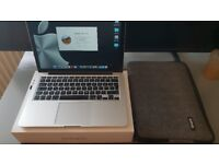 """Apple MacBook Pro 13"""" 2.7GHz / 128GB SSD / 8GB 2015 - LOW BATTERY COUNT OF 87"""