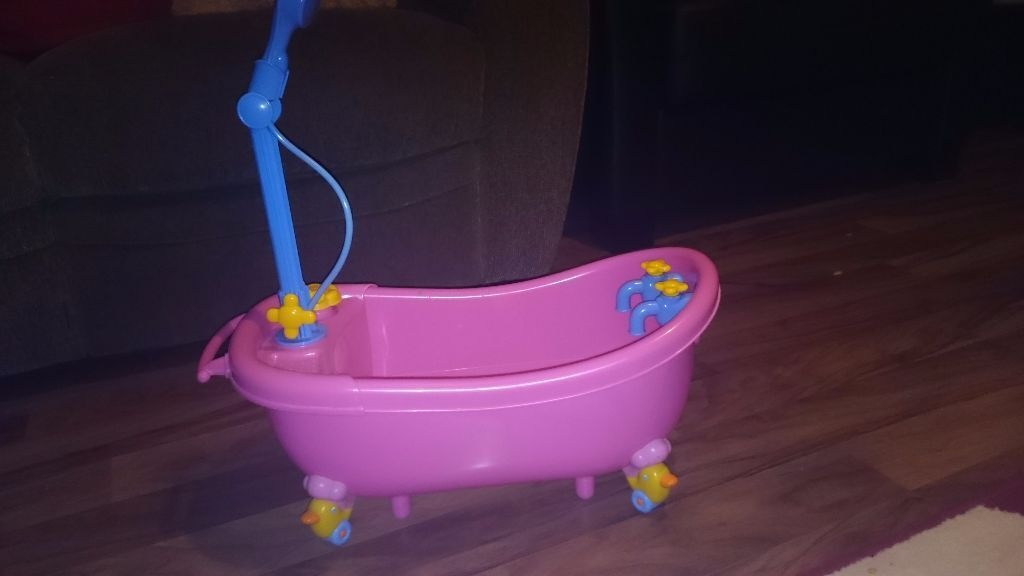 Kids Toy Baby Born Bath With Over Head Shower