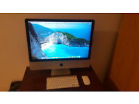 imac 24 inches 3.06ghz 250gb SSD core 2 duo, 4gb Ram, Apple Mac computer, magic mouse and keyboard