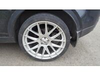 22 inch alloy wheels for RR Evoque/Disco Sport.