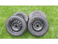"BMW winter wheels with Bridgestone tyres 16"""