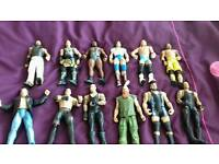 WWE FIGURES & RING