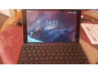 Tab 4G LTE with keyboard