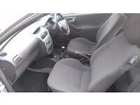 Silver vauxhall corsa active 12v . 3 door hatchback.973cc. Genuine teason for sale.