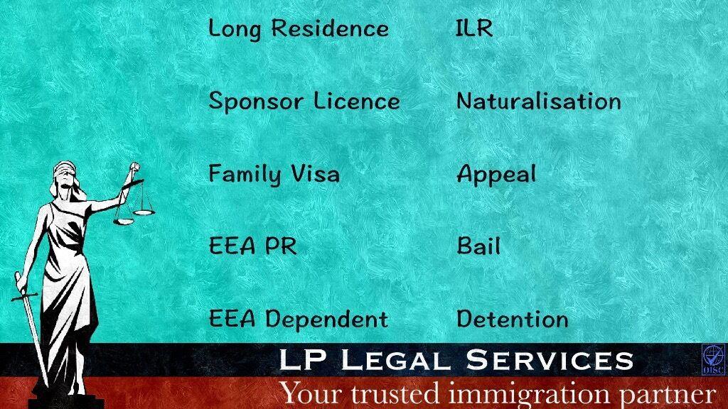 Immigration Specialist - Tier 1, Tier 2, Tier 4,Ilr, Eea Family