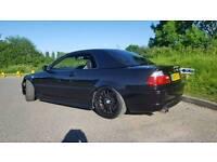 Bmw 330ci m sport black convertible