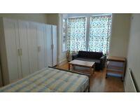 Splendid First Floor STUDIO with Separate Kitchen, Bathroom & Allocated Parking--Goodmays-No DSS Plz